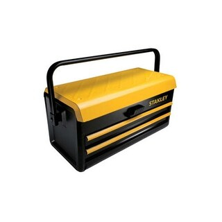"""Stanley Auto Slide Drawer Metal Tool Box 19"""" (2-Drawer)