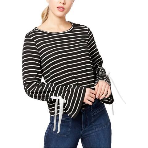 Maison Jules Womens Striped Basic T-Shirt