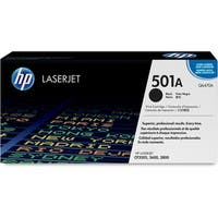 HP 501A Black Original LaserJet Toner Cartridge for US Government (Q6470A)(Single Pack)