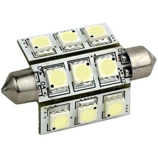 Lunasea Pointed Festoon 9 LED Light Bulb (Option: Red)