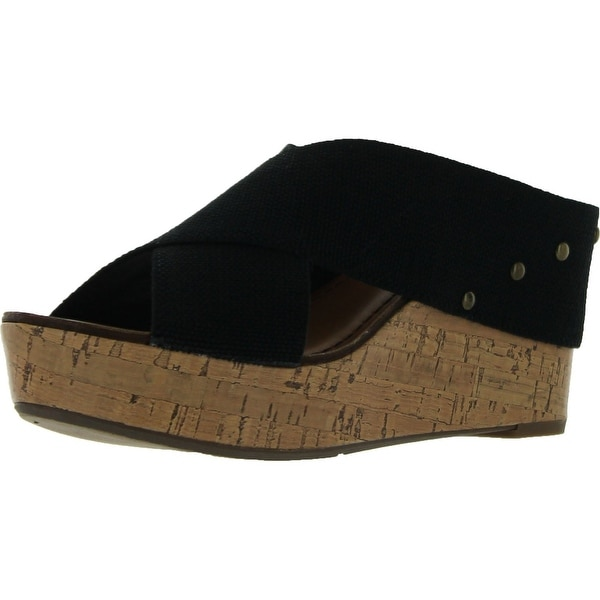 Madeline Womens Adonis Fashion Wedge Sandals
