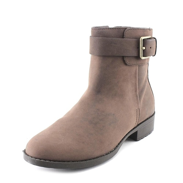 Cole Haan Hastings WP Bootie Women Round Toe Leather Brown Bootie