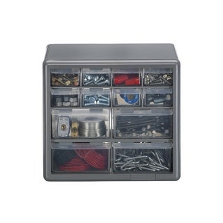 Stack-On DS-12 12-Drawer Storage Cabinet