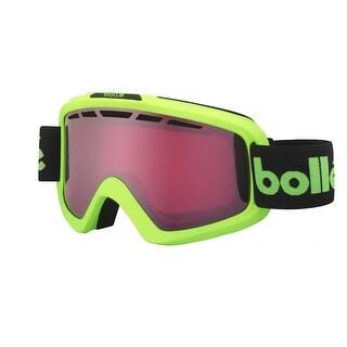 Bolle Nova II Goggles, Matte Green Retro, Vermillion Gun Lens - matte green retro