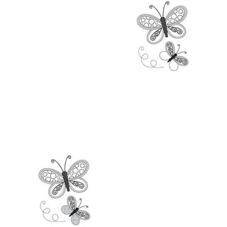 """Mini Clear Stamps 2.25""""X3""""-Butterflies"""