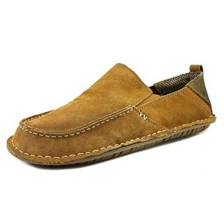 Crevo Jetty Men Moc Toe Suede Loafer