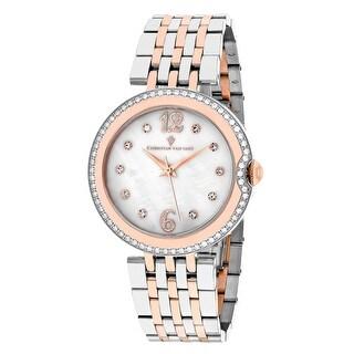 Christian Van Sant Women's Jasmine CV1613 Mother of Pearl Dial watch
