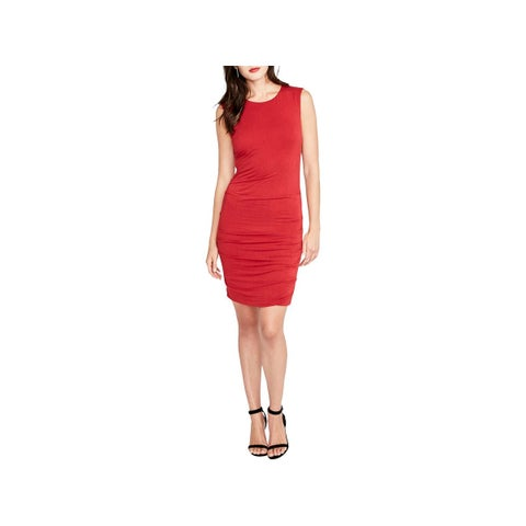 Rachel Rachel Roy Womens Bodycon Dress Sleeveless Knee-Length