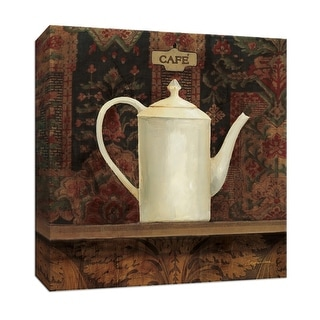 """PTM Images 9-151886  PTM Canvas Collection 12"""" x 12"""" - """"Ornamental Teapot I"""" Giclee Coffee, Tea & Espresso Art Print on Canvas"""