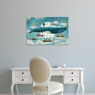 Easy Art Prints Terry Fan's 'Ocean Meets Sky' Premium Canvas Art