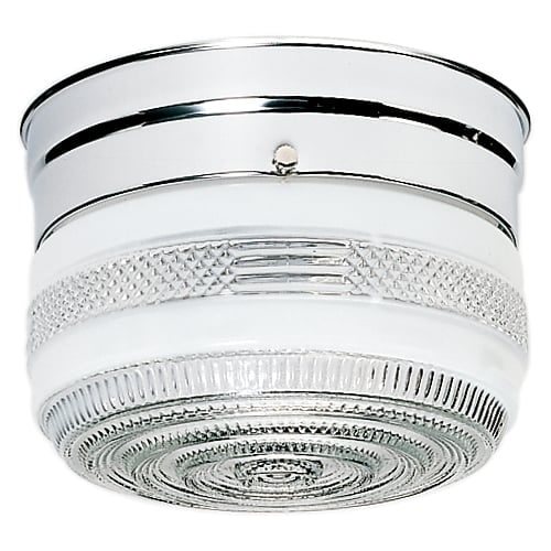 "Nuvo Lighting 77/100 Single Light 6"" Wide Flush Mount Ceiling Fixture"
