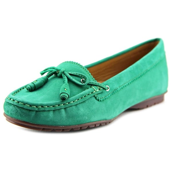 Sebago Meriden Tie Women Round Toe Leather Loafer