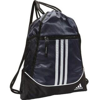 "Adidas Alliance II Sackpack Sling Backpack School College Sport Alliance - 14""l x 18.75""h"