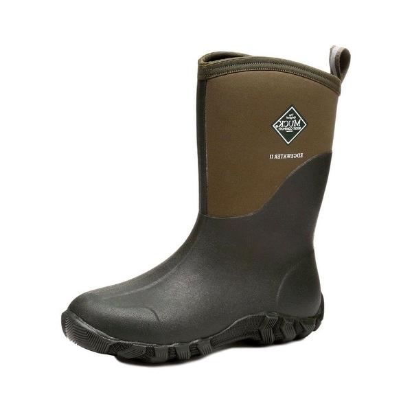 63c310f9690 Shop Muck Boots Mens Edgewater II Mid Waterproof Moss EW2M-333T ...
