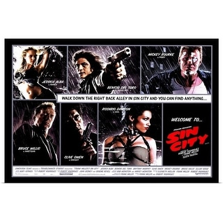 """Sin City (2005)"" Poster Print"