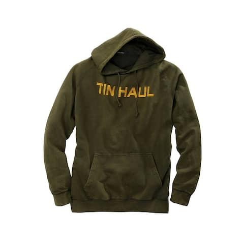 Tin Haul Western Sweatshirt Mens Fleece Olive