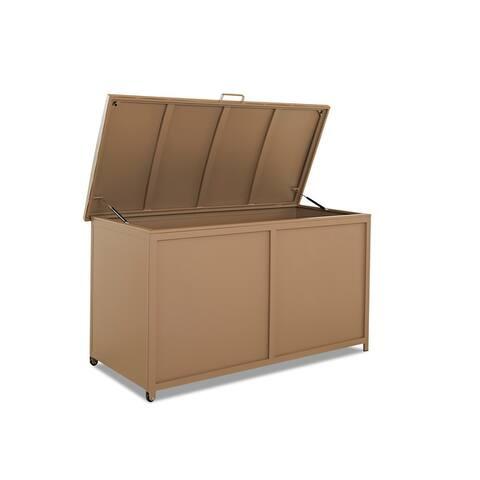 "Large Cushion Storage Chest - 39""H x 70""W x 33""D"