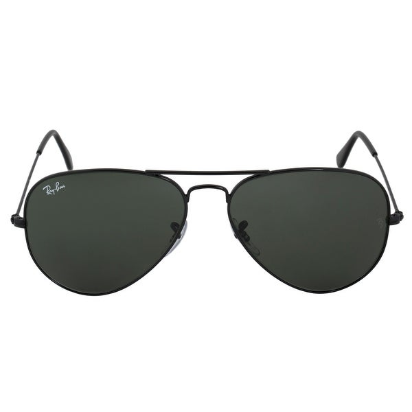 39e1505653 Shop Ray-Ban Aviator Large Metal Sunglasses RB3025 L2823 58 - Free ...