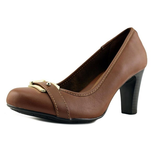 Eurosoft by Sofft Beatrice Women Round Toe Leather Heels