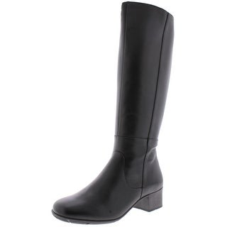 """Link to Elites by Walking Cradles Womens Mix 14"""" Knee-High Boots Leather Tall - 7 Narrow (AA,N) Similar Items in Women's Shoes"""