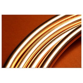 """""""Copper pipes"""" Poster Print"""