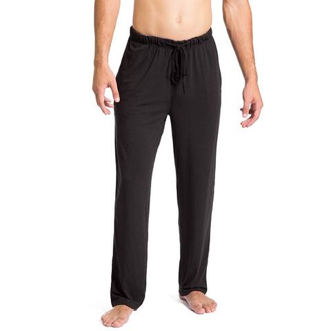 Fishers Finery Mens Sleepwear Black Size XL Lounge Pants Drawstring
