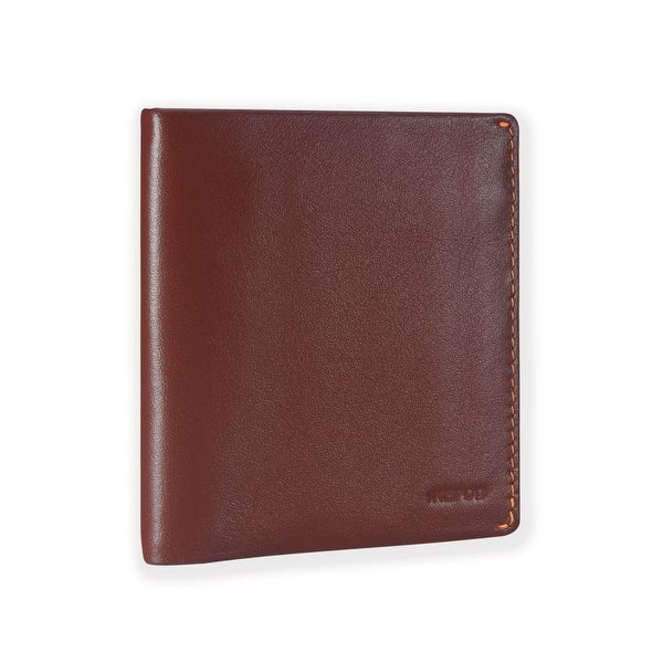 Ikepod Slim Carry Wallet (Java of 7 Colour) [ Italy Made // Top Leather] [RFID Blocking and Slim Stitching !]