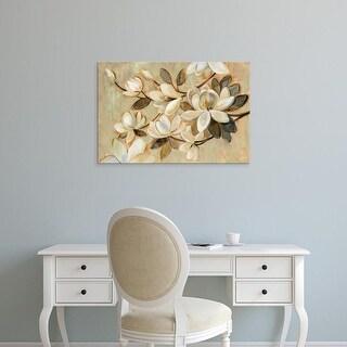 Easy Art Prints Silvia Vassileva's 'Magnolia Simplicity' Premium Canvas Art