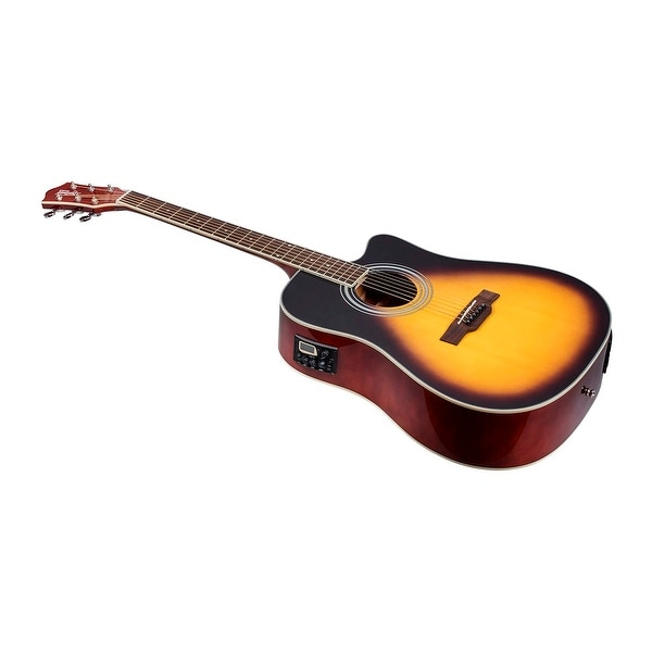 shop monoprice idyllwild foothill acoustic electric guitar with tuner pickup and gig bag. Black Bedroom Furniture Sets. Home Design Ideas