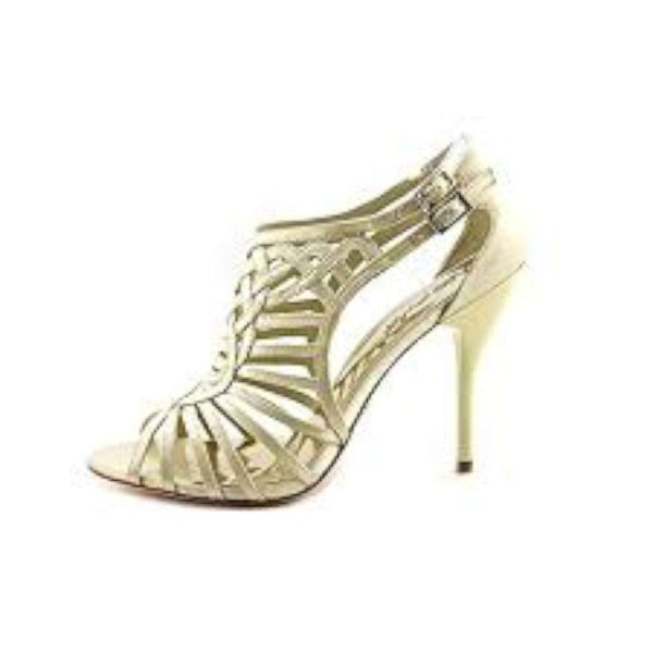 A.B.S. by Allen Schwartz Womens Constance Open Toe Ankle Strap Classic Pumps - 10