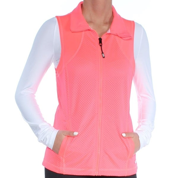 06ddc70df Shop Tommy Hilfiger Womens Small Perforated Vest Jacket - Free Shipping On  Orders Over $45 - Overstock - 26992685