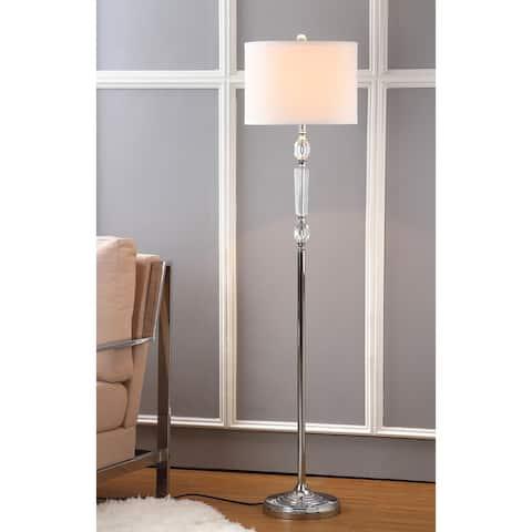 "SAFAVIEH Lighting 60-inch Crystal Fairmont Floor Lamp - 14""x14""x60"""