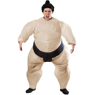 Inflatable Sumo Wrestler Adult Standard Costume - standard - one size
