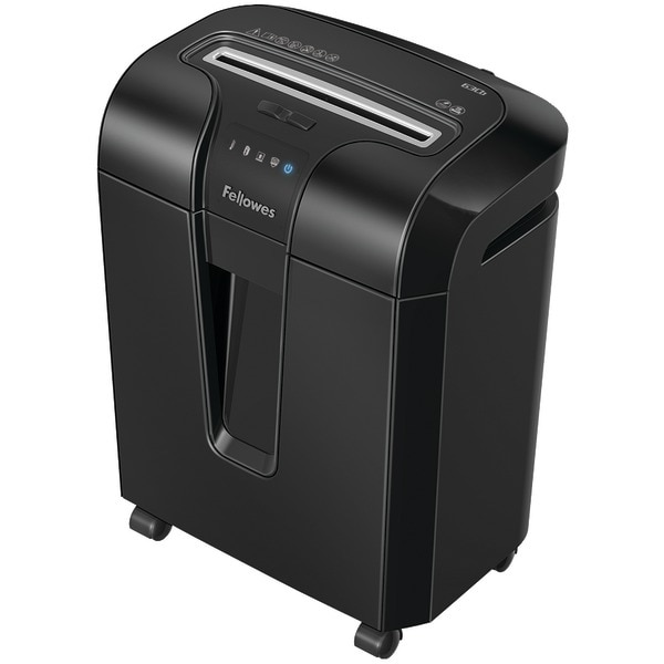 Fellowes 4600001 Powershred(R) 63Cb 10-Sheet Cross-Cut Shredder