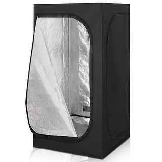 Link to Costway Indoor Grow Tent Room Reflective Hydroponic Non Toxic Clone Similar Items in Gardening
