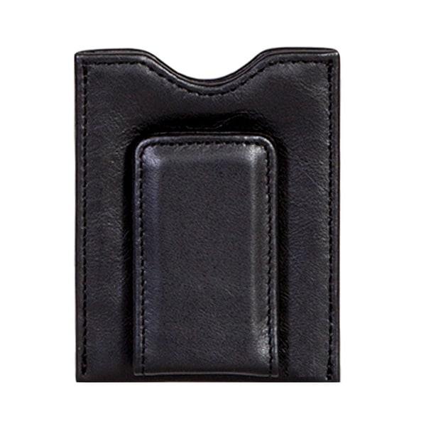 Scully Western Wallet Soft Plonge Leather Magnetic Money Clip - One size