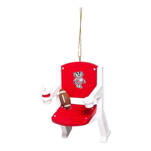 Shop Wisconsin Badgers Stadium Chair Ornament