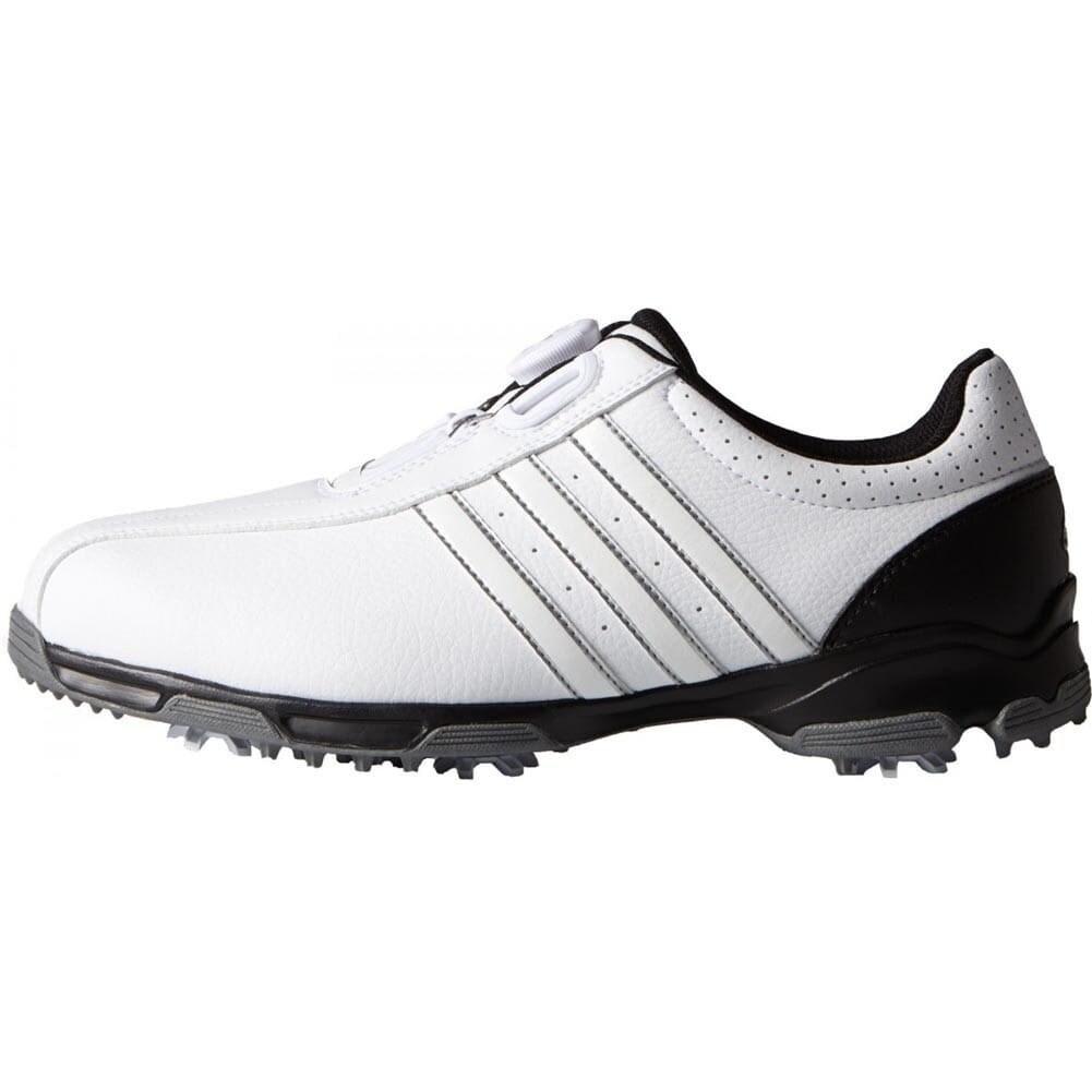 blanco Específicamente Secreto  Adidas 360 Traxion BOA White/White/Black Golf Shoes F33446/F33213 -  Overstock - 19576931