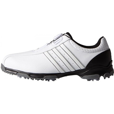 Adidas 360 Traxion BOA White/White/Core Black Golf ShoesF33446/F33213