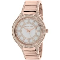 Michael Kors Women's Kerry  Rose-Gold Stainless-Steel Plated Fashion Watch