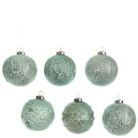Glass Balls Set of 6