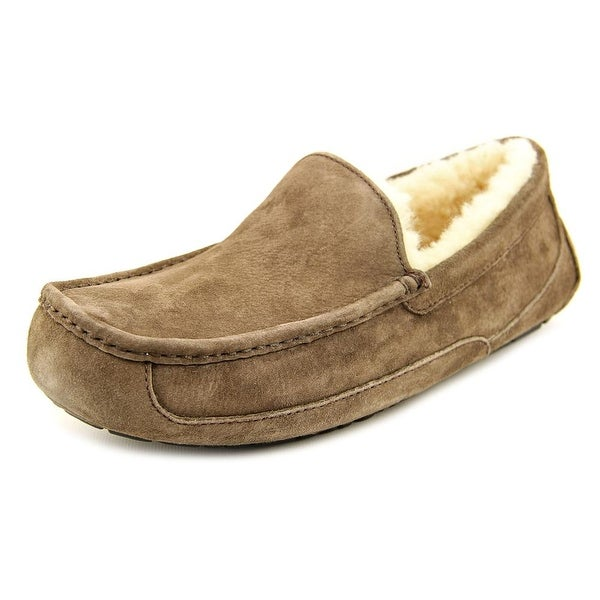 bedbf4654b3 Shop Ugg Australia Ascot Men Moc Toe Suede Brown Slipper - Free ...