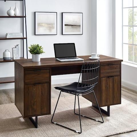 Copper Grove 54-Inch Executive Storage Desk