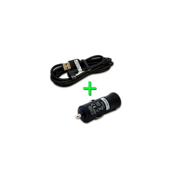 TomTom 4UUC 001 02 GO Mini USB Cable w/ Car Adapter for GO, XL & XXL Series