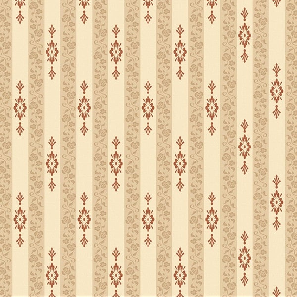Pack of 6 Striped Holiday Home Wallpaper Backdrop 4' x 30'