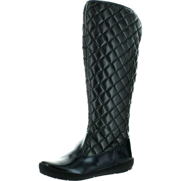 Naturino Girls 3643 Fashion Quilted Boots - Black/silver - 36 m eu / 4-4.5 m us big kid