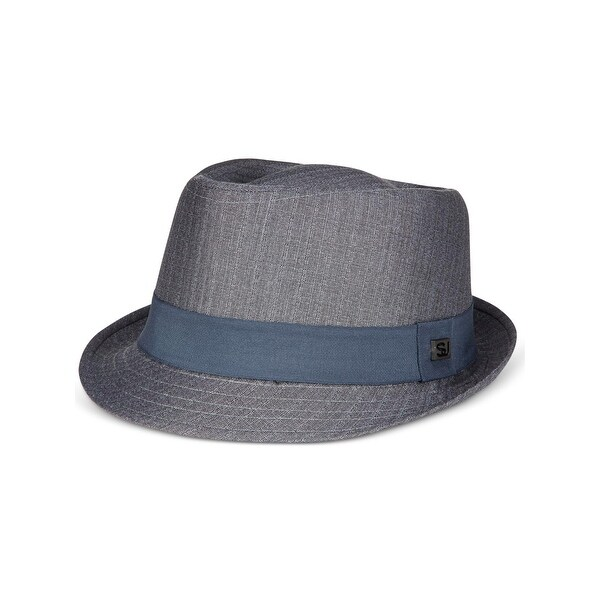 97ba84f5f9ff2 Shop Sean John Mens Fedora Diamond Top Textured - L XL - Free Shipping On  Orders Over  45 - Overstock - 22391497