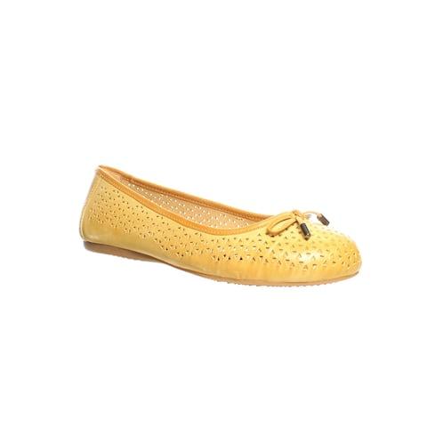 Softwalk Womens Napa Tan Ballet Flats Size 6 (2E)