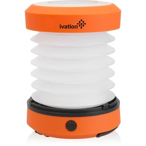 Ivation LED Battery Operated Camping Lantern (Orange)