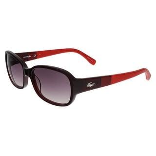 Lacoste L784/S 615 Red Rectangle sunglasses Sunglasses